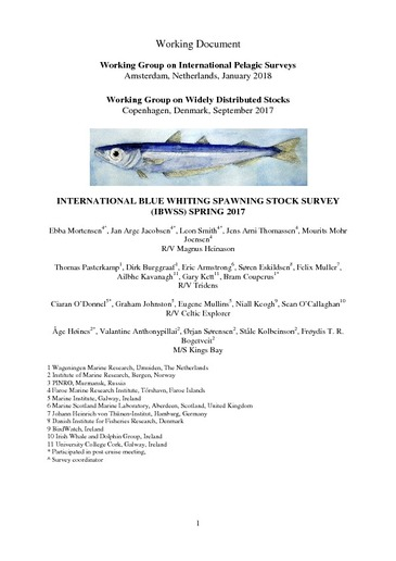 Browsing Marine Institute Community of Research Publications